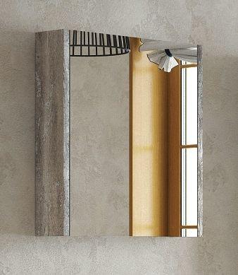 Зеркальный шкаф 65х67 см антик Corozo Верона SD-00000284 зеркальный шкаф corozo орфей 50 белый sd 00000299