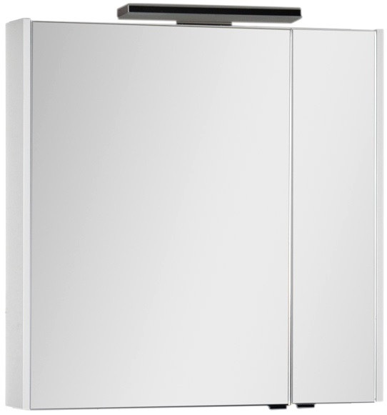 Зеркальный шкаф 83,6х85 см белый Aquanet Франка 00183045