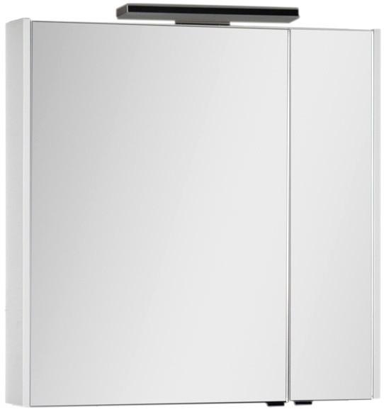 Зеркальный шкаф 83,6х85 см белый Aquanet Франка 00183045 шкаф зеркало aquanet франка 183044
