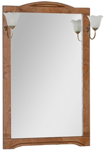 Зеркало 70х112 см темный орех Aquanet Луис 00173215 зеркало 65х112 см темный орех aquanet луис 00164402