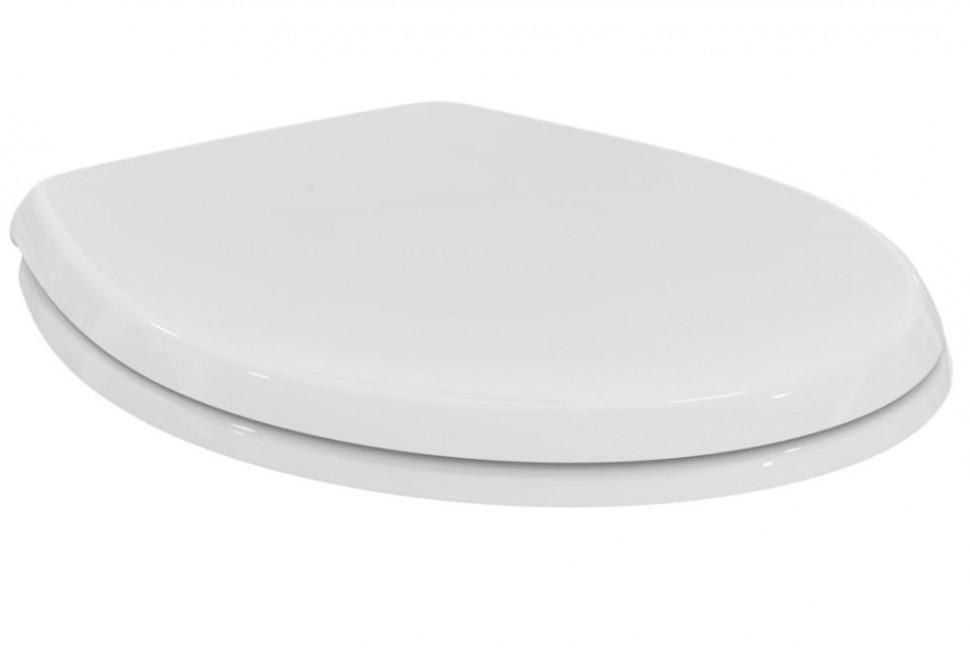 Крышка-сиденье с микролифтом для унитаза Ideal Standard Ecco W303001 цена