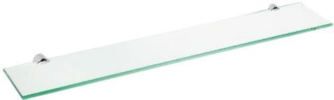 Полка стеклянная 60 см Bemeta Alfa 102402242
