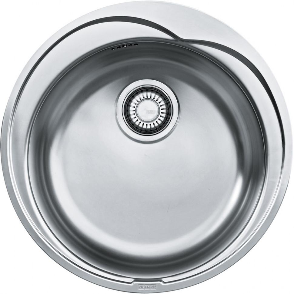 Кухонная мойка Franke Ronda ROL 610-41 декоративная сталь 101.0000.562 franke srg 610 белый