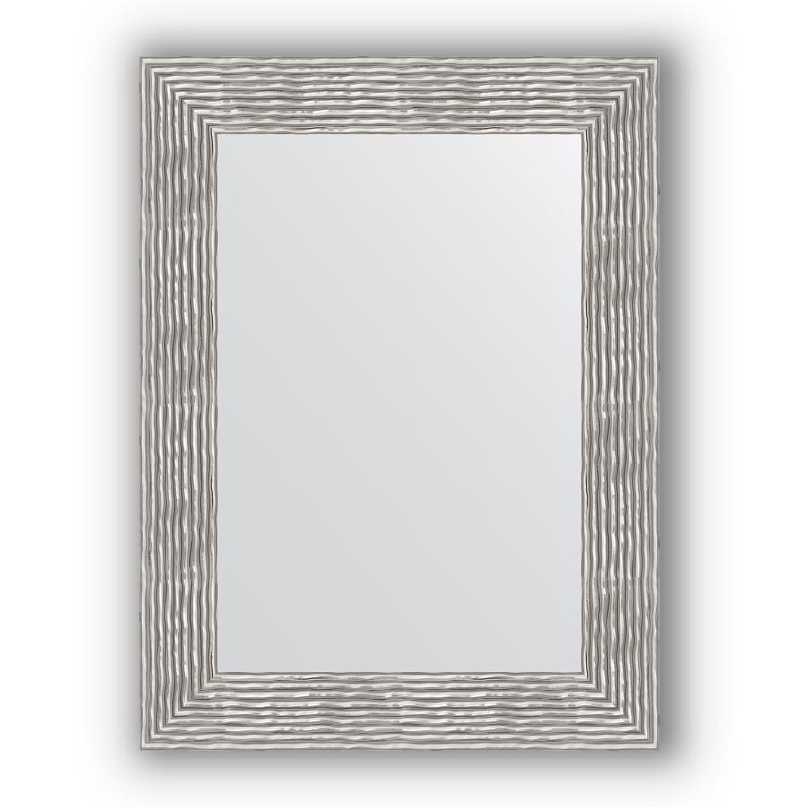Зеркало 60х80 см волна хром вишня Evoform Definite BY 3057 зеркало 80х80 см волна хром evoform definite by 3249