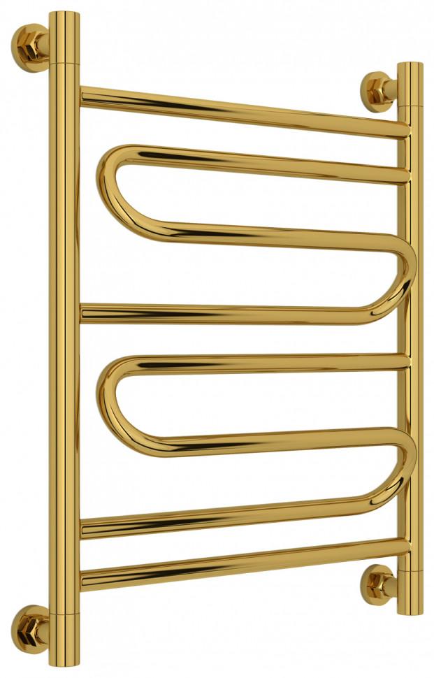 Полотенцесушитель водяной 600х500 золотой Сунержа Элегия+ 03-0205-6050